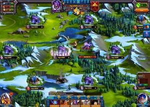 игровая карта Норды: Герои Севера