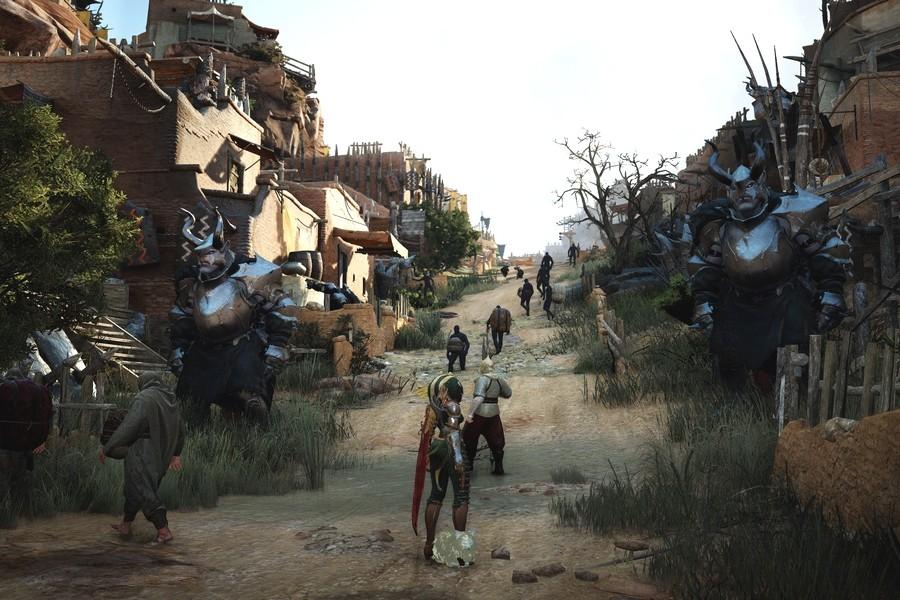 Black Desert город