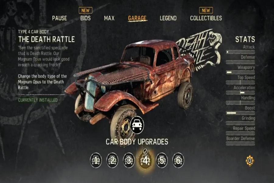 Автомобиль magnum в Mad Max