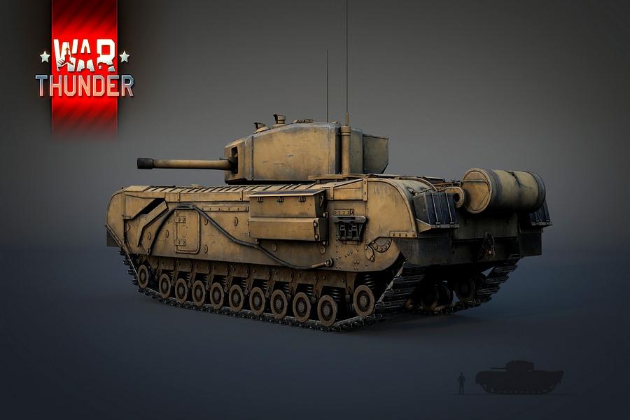 танки британской ветки war thunder