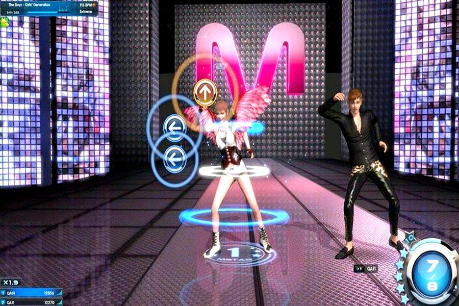 танцы в клуб mstar