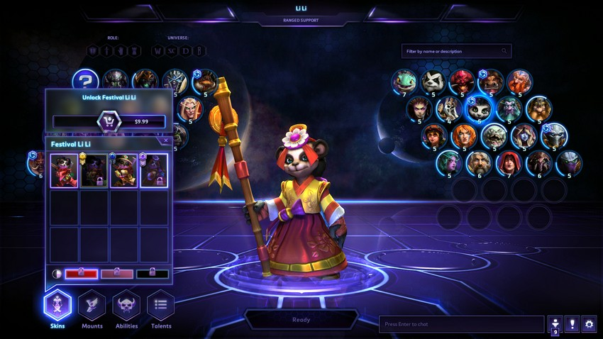 Heroes of the Storm Ли Ли