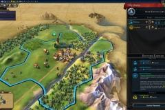 меню города в Civilization 6