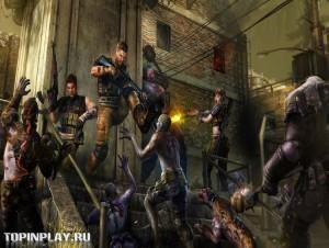 Black Fire битва с зомби