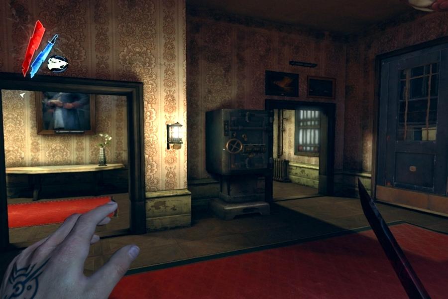 Dishonored коды от сейфов в игре