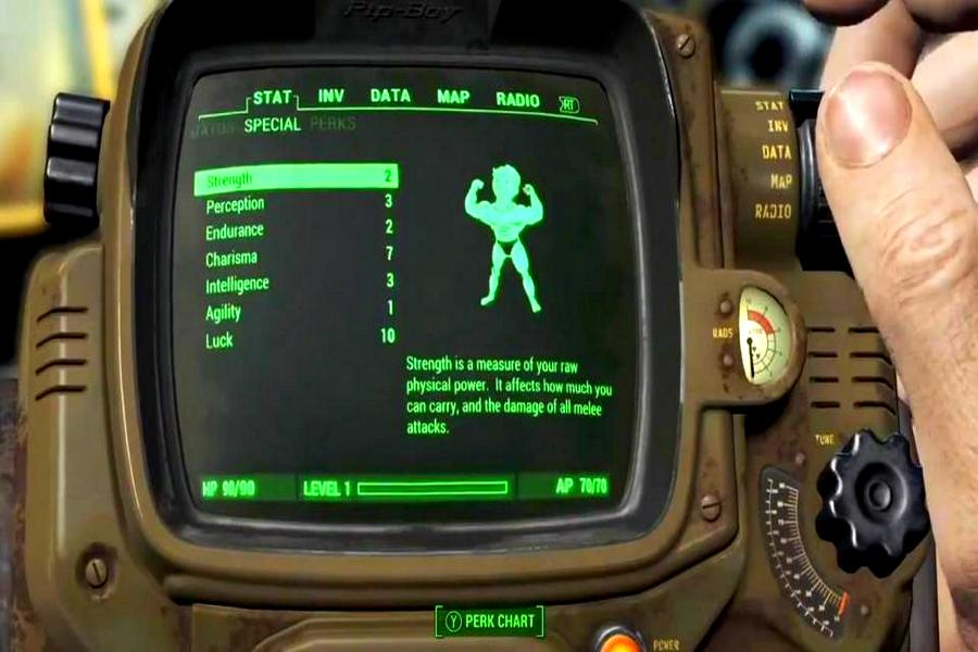 изменение навыков в fallout 4