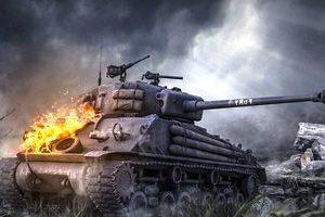 как поджечь танк противника в WOT
