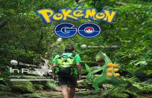 Как включить камеру в Pokemon GO